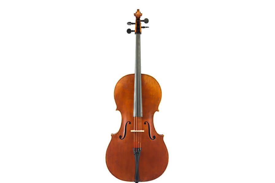 Front view of a Krentz Cello.